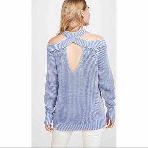 Free People Half Moon Bay Pullover Sweater - M